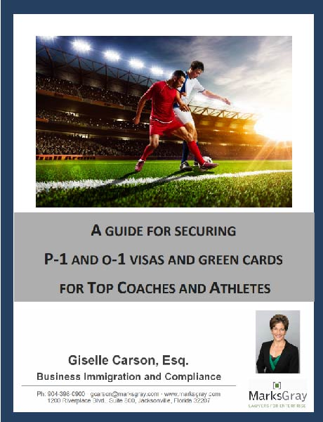 Download: DOWNLOAD NOW- P-1 and O-1 Visas for Green Cards